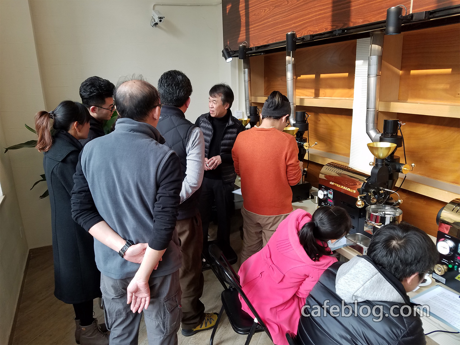 第一届日本浅野嘉之咖啡烘焙培训开始了