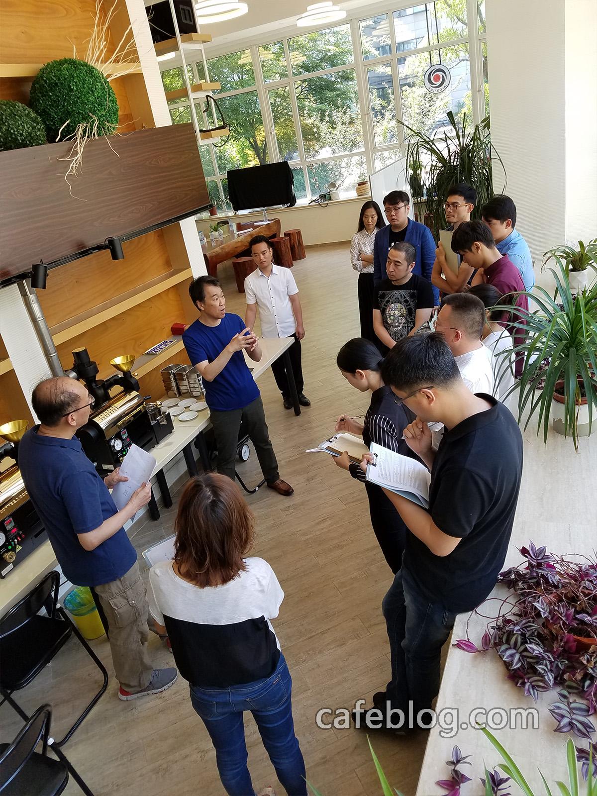 第二届日本浅野嘉之咖啡烘焙培训(第1阶段)