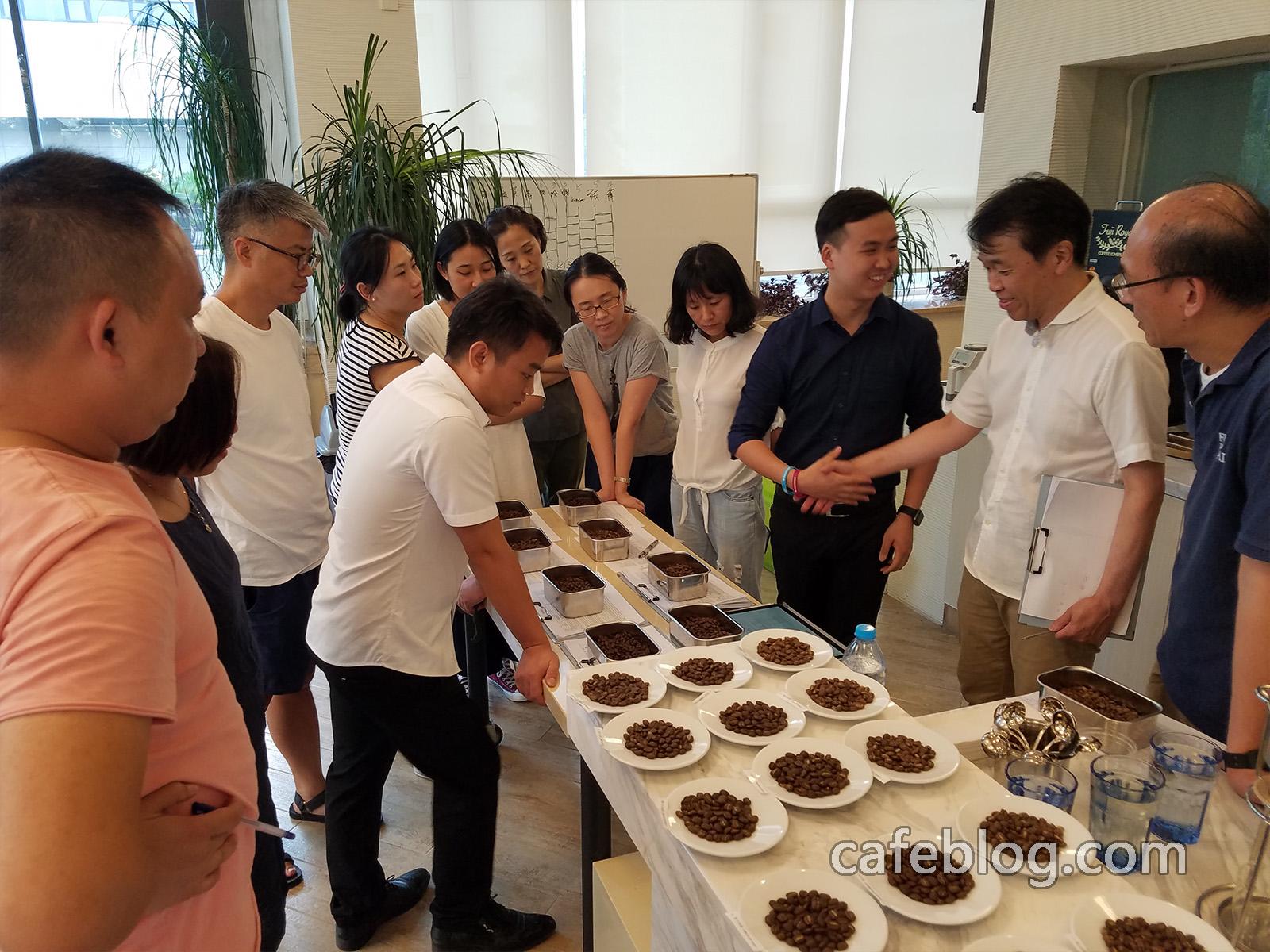第三届日本浅野嘉之咖啡烘焙培训(第1阶段)