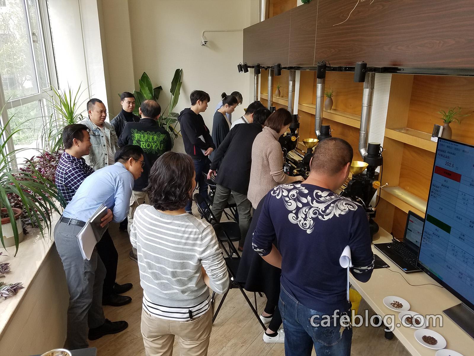 第四届日本浅野嘉之咖啡烘焙培训(第1阶段)