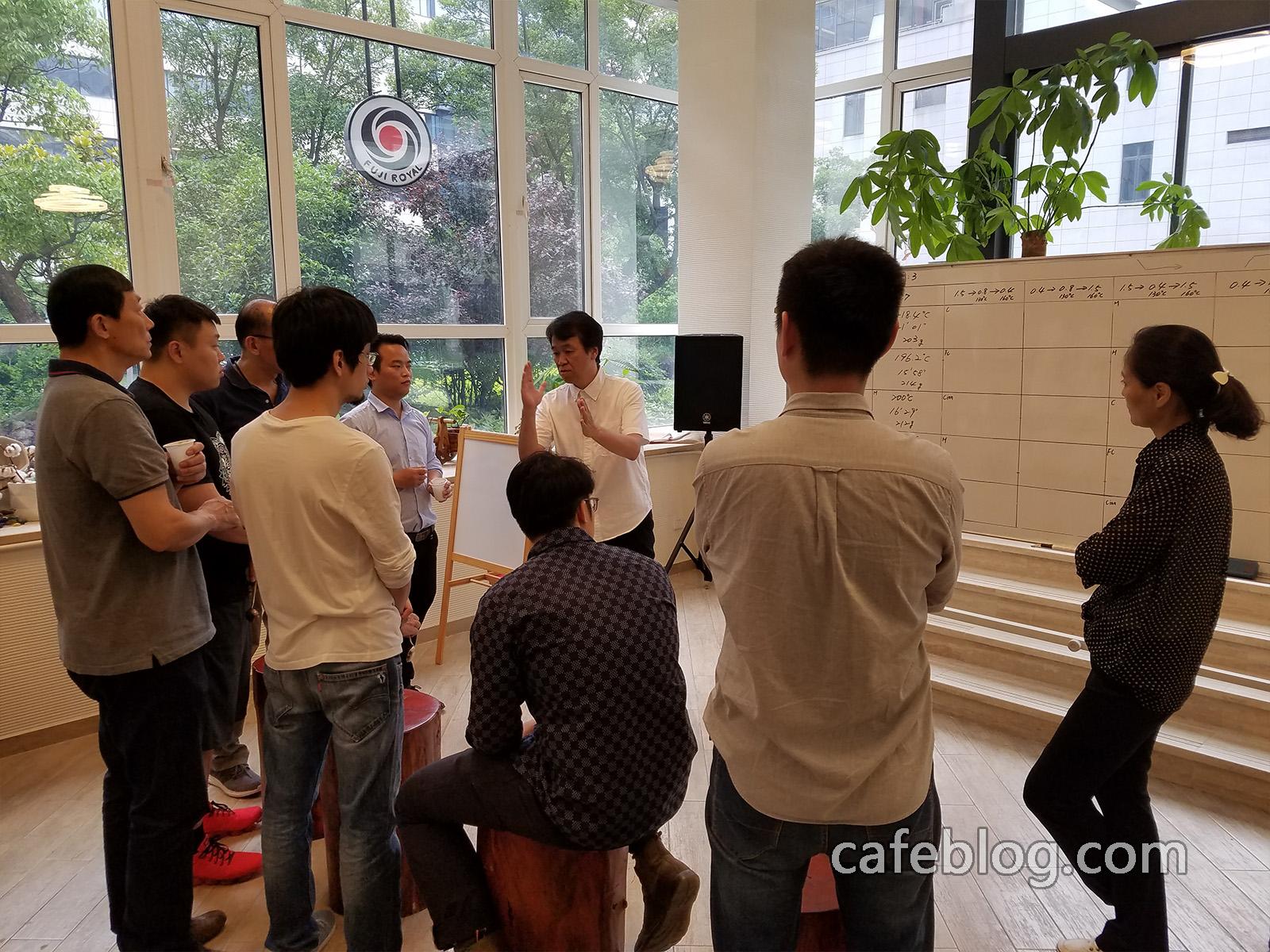 第七届日本浅野嘉之咖啡烘焙培训(第2阶段)