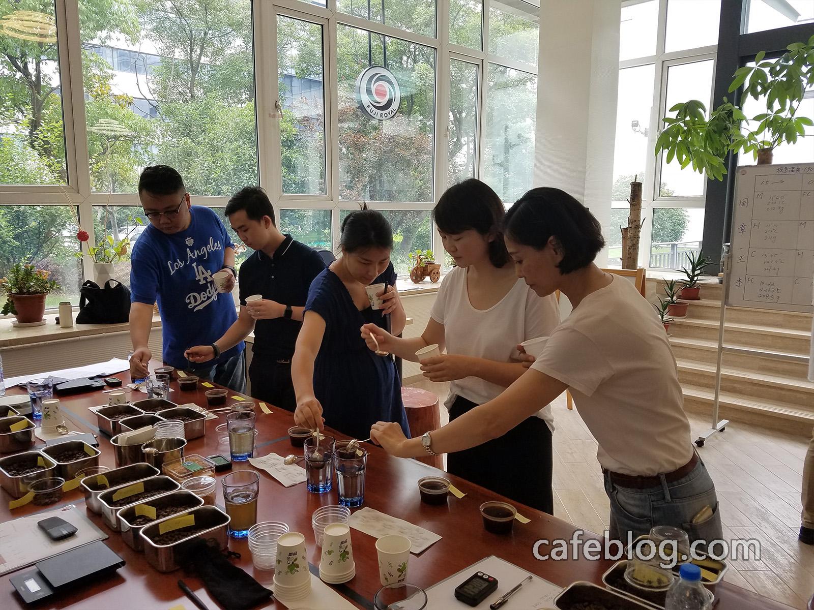 第八届日本浅野嘉之咖啡烘焙培训(第二阶段)