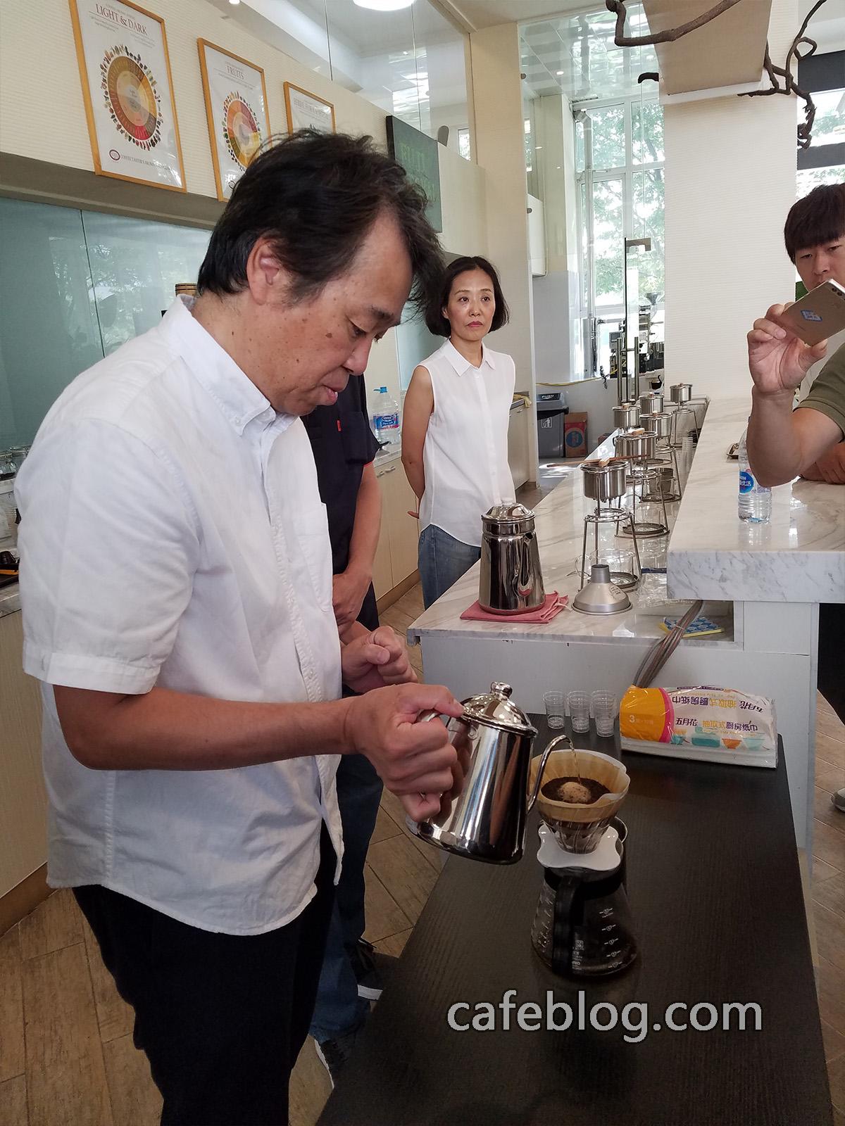 第九届日本浅野嘉之咖啡烘焙培训(第1阶段)