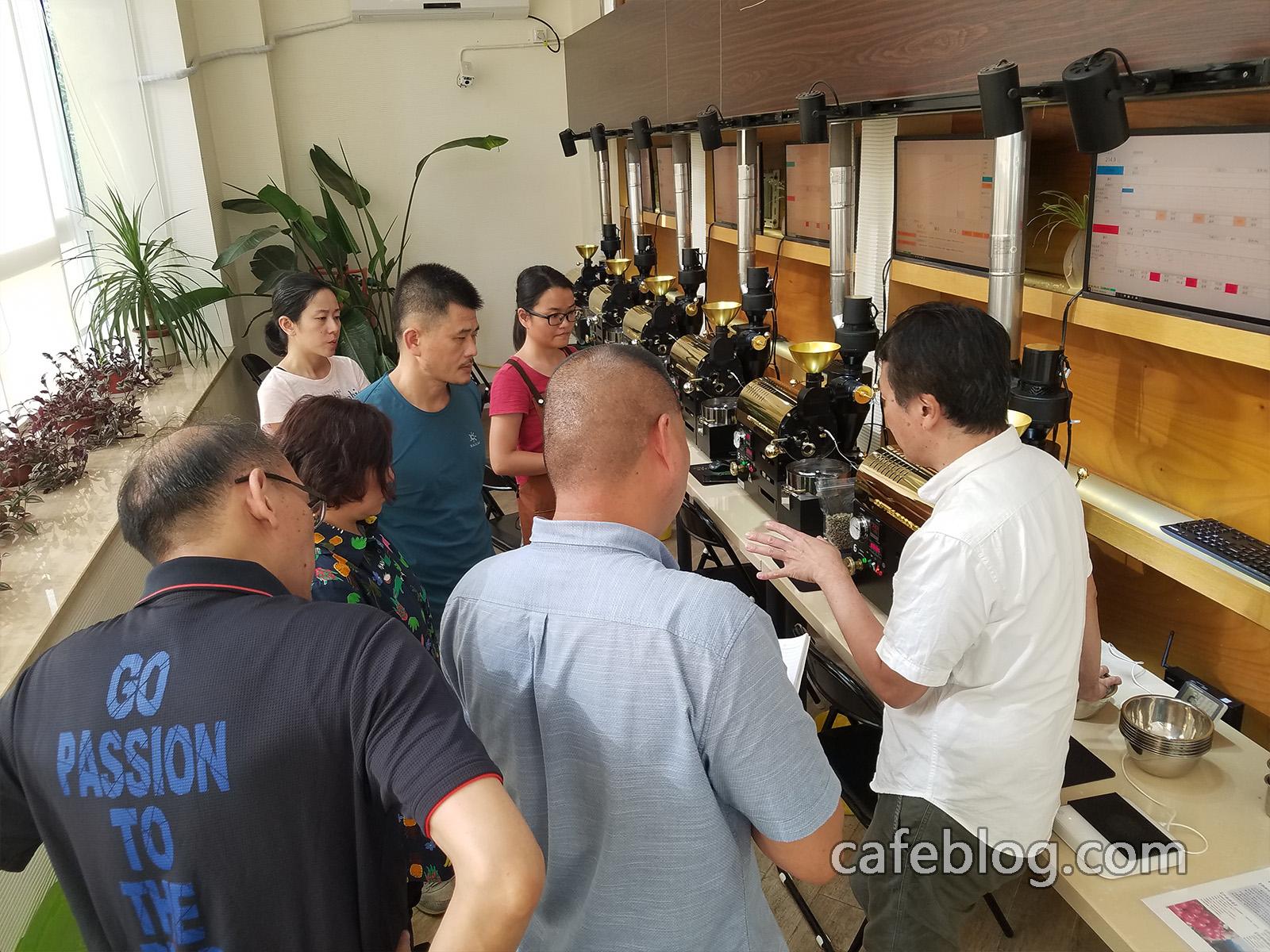 第十届日本浅野嘉之咖啡烘焙培训(第2阶段)