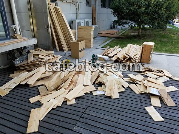 安排打木架