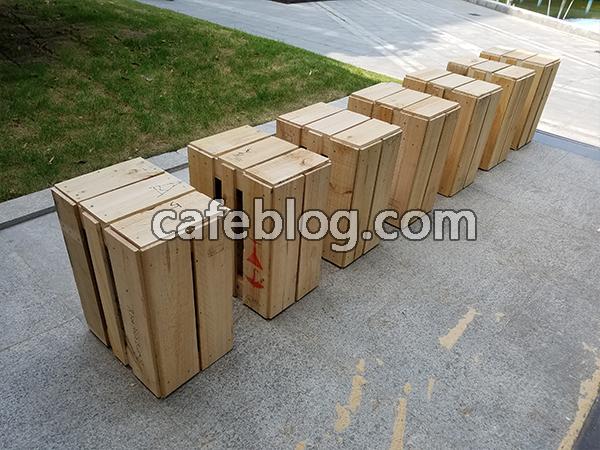 确认木架和木架数量