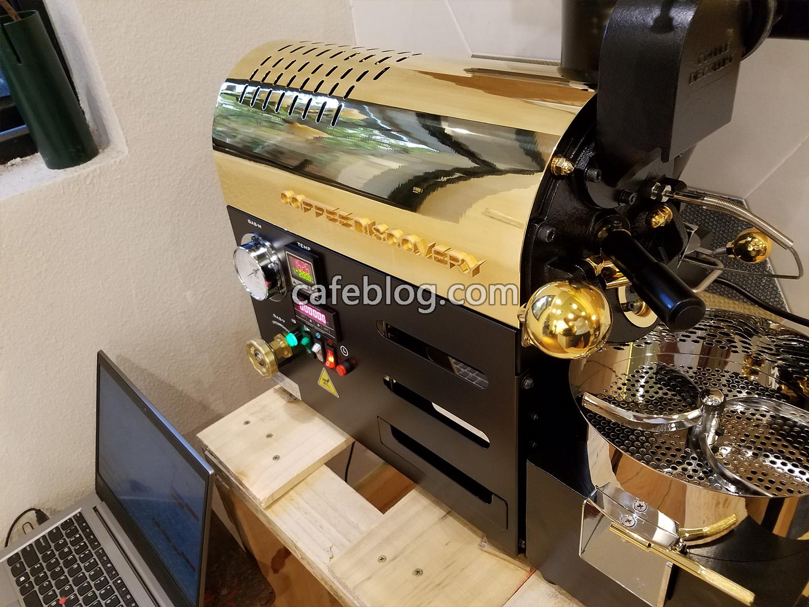 富士皇家DISCOVERY咖啡烘焙机