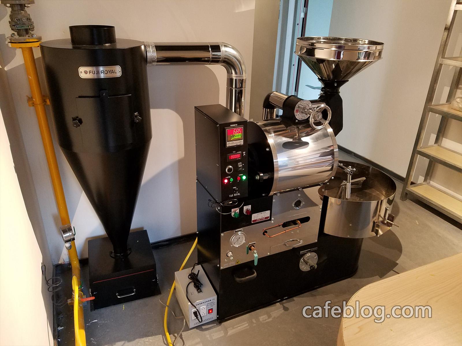 富士皇家R-105(5公斤)咖啡烘焙机