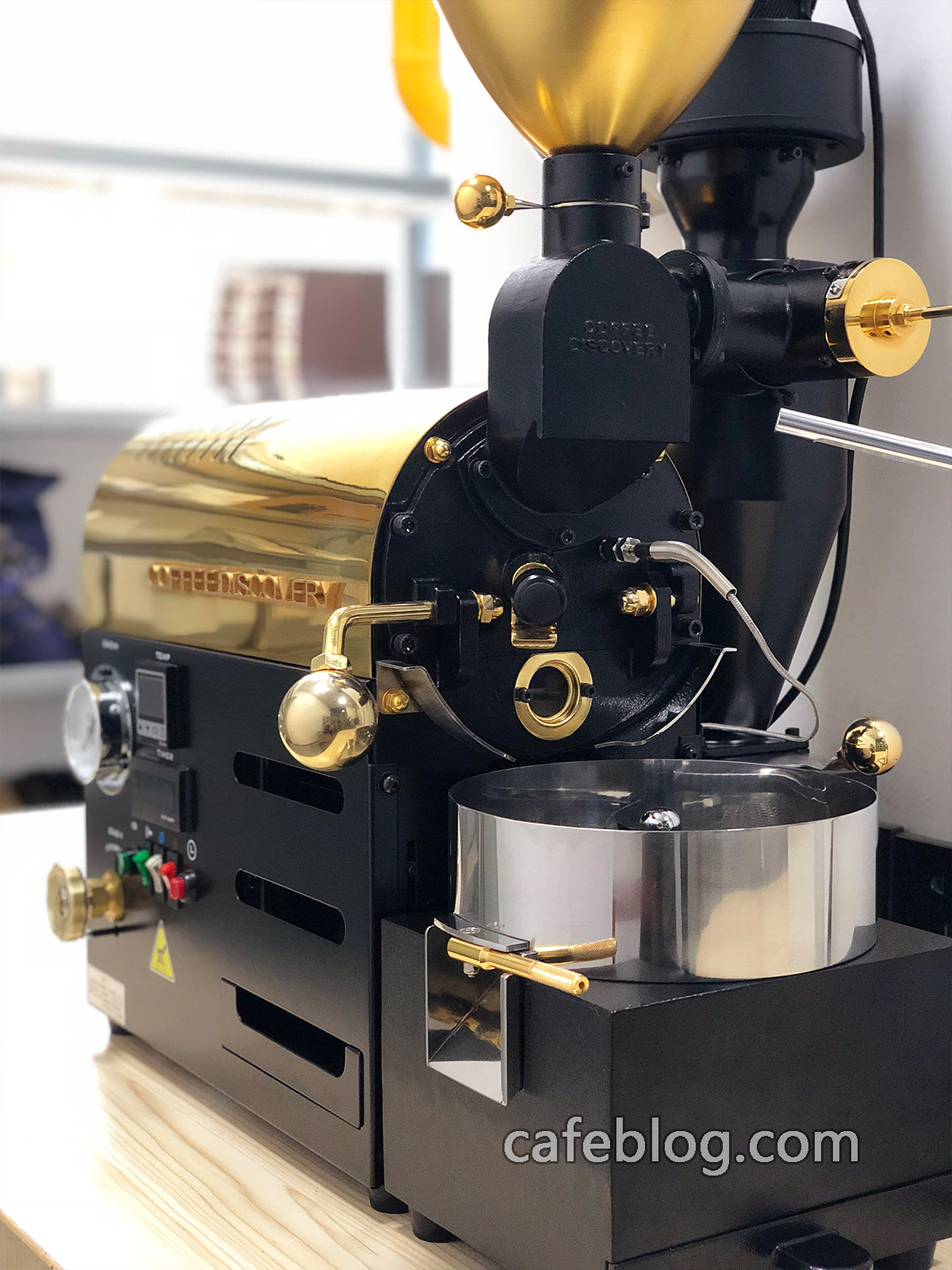富士皇家DISCOVERY(250克)咖啡烘焙机