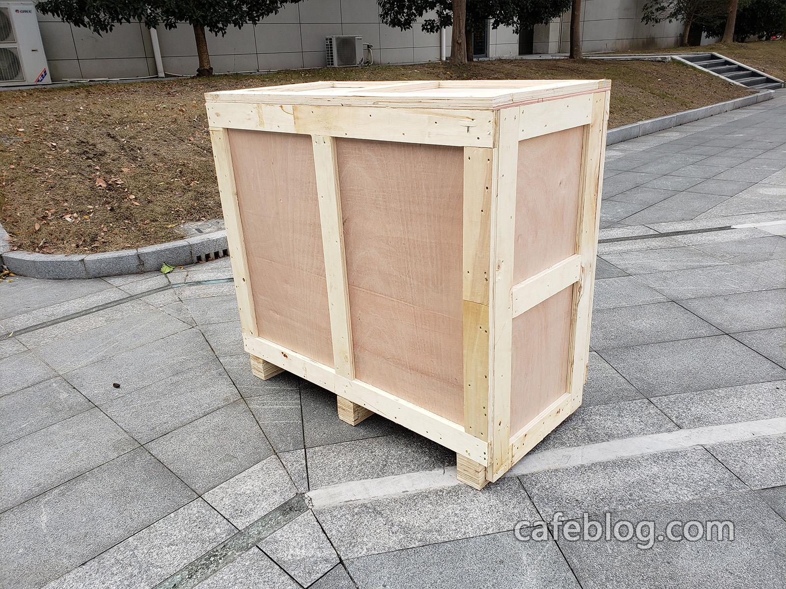 准备发货R-101(1公斤)的烘焙机