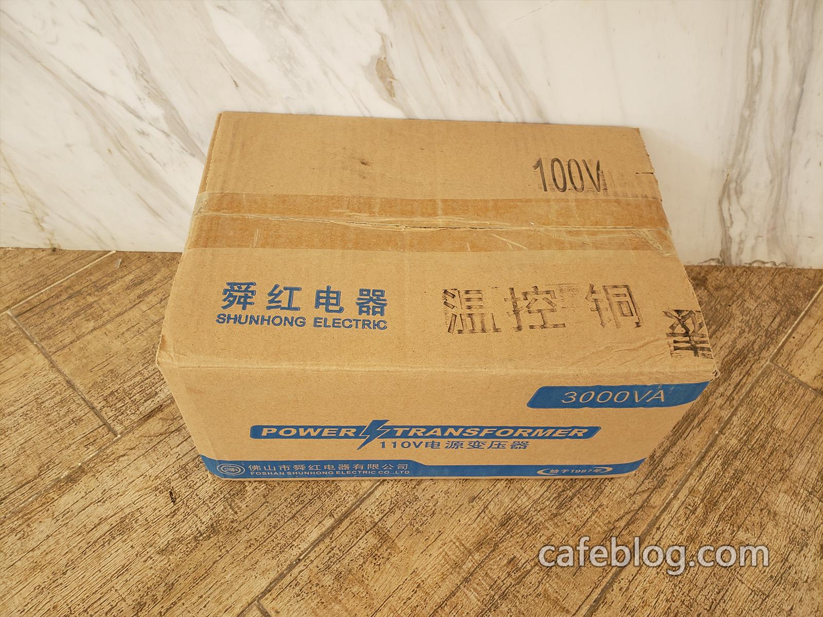 发了2箱DISCOVERY咖啡烘焙机和R-101咖啡烘焙机(1公斤)的配件。