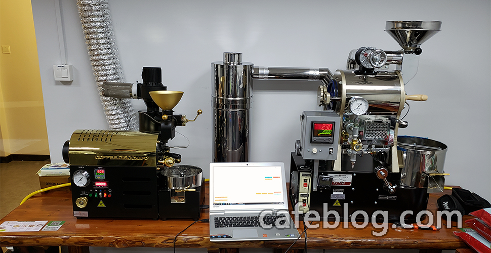 天津市国香文化创意有限公司(咖啡工作室)- 富士皇家DISCOVERY和R-101咖啡烘焙机安装记 (2019年1月23日)
